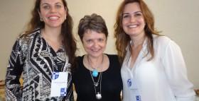 Andréia, Dorothy Roma Heimbecher(PHD in Business Administration, professora de marketing e sustentabilidade).